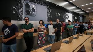 Com 'lanchinho', iPhone 11 registra fila no lançamento em loja de SP