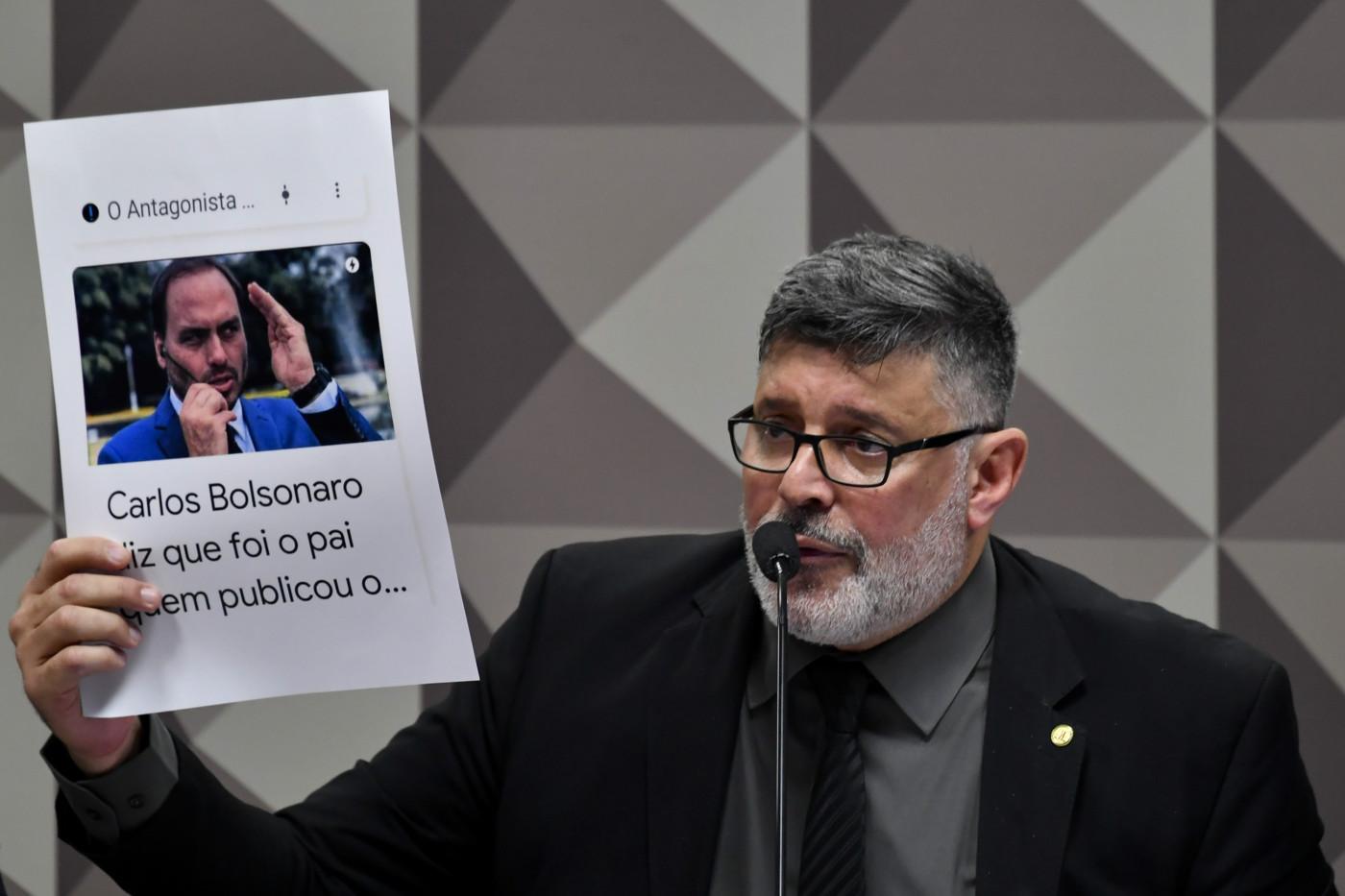 Com prints , Frota volta a denunciar 'gabinete do ódio' na CPMI das fake  news | Jovem Pan