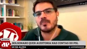 Constantino: Bolsonaro não tem muita alternativa fora do PSL