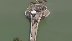 Explosão barragem da Pampulha