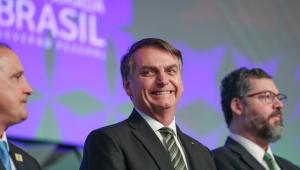 Jair Bolsonaro no Fórum de Investimento