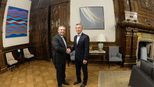 Mauricio Macri e Alberto Fernandez - Argentina