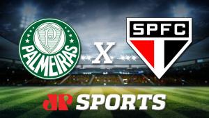 Palmeiras x São Paulo: acompanhe o jogo ao vivo na Jovem Pan