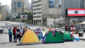 Protestos Líbano