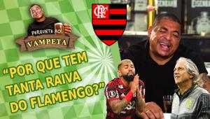 'Por que tem tanta raiva do Flamengo?' Vampeta responde às perguntas mais 'ácidas' dos internautas