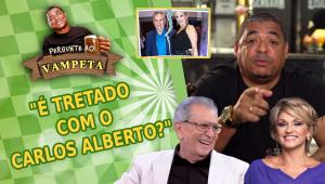 'É tretado com Carlos Alberto de Nóbrega?' Vampeta esclarece polêmica