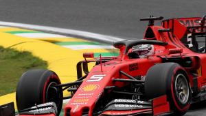 Com domínio da Ferrari no 2º treino, Vettel é o mais rápido do dia em Interlagos