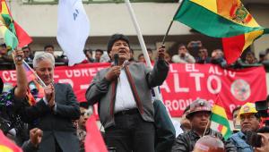 Parlamento boliviano recebe carta de renúncia de Evo Morales