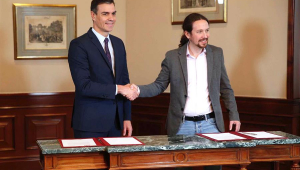 Partidos de esquerda, PSOE e Unidas Podemos, chegam a acordo para formar governo na Espanha