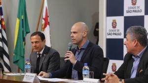 Após alta, Covas evita comentar eleições de 2020; Doria fala em 'Plano Bruno'