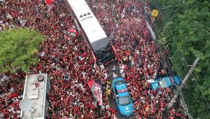 Lima terá efetivo de 10 mil agentes durante decisão entre Flamengo e River Plate