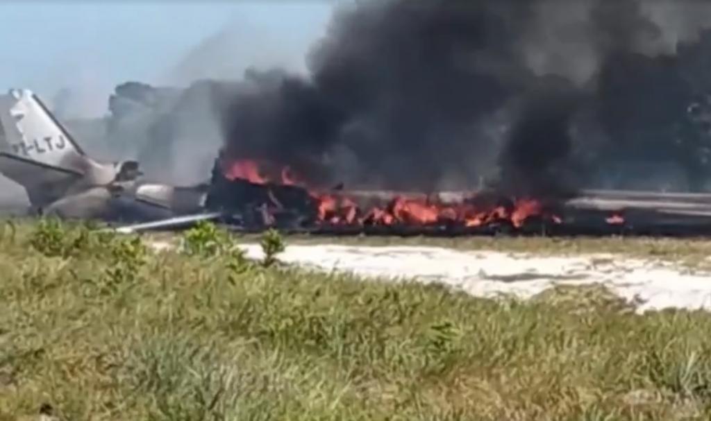 Resultado de imagem para Quatro vítimas de queda de avião são transferidas para São Paulo