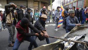 Sete pessoas são acusadas de terrorismo por derrubar muro de refinaria na Bolívia