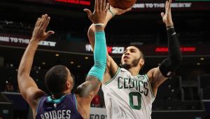 Celtics batem Hornets e emplacam 6ª vitória seguida na NBA