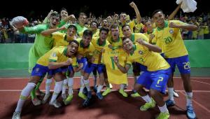 Brasil resolve no 1º tempo, bate a Itália e pega a França na semi do Mundial sub-17