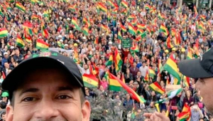 Líder opositor boliviano nega ter havido golpe e pede transição pacífica