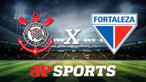 Corinthians x Fortaleza: acompanhe o jogo ao vivo na Jovem Pan