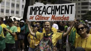 Bancada discute manifestação pelo impeachment de Gilmar