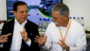 Doria fará nova reunião para tentar renovar contrato com a Fórmula 1