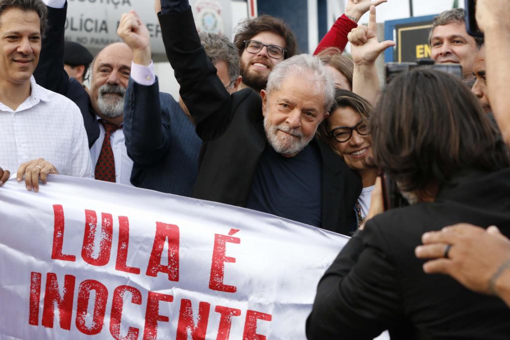 Lula deve discursar neste sábado em sindicato; atos pró e contra soltura estão marcados