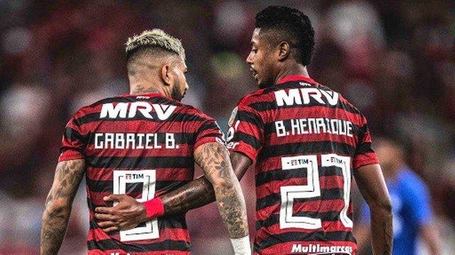 Luisão enche a bola de Gabigol e Bruno Henrique: Deveria ser o ataque da seleção brasileira