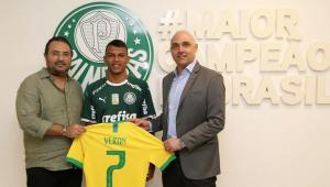 Gabriel Veron renova com o Palmeiras até 2024