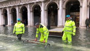 Veneza registra novo dia de inundação; Florença e Pisa estão em alerta