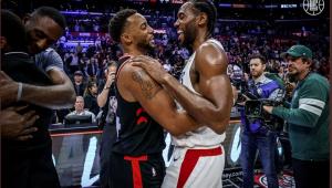 Em reencontro com Kawhi Leonard, Raptors perdem dos Clippers na NBA
