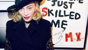 Post de Madonna sobre cloroquina é marcado como fake news por Instagram