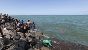 Marinha envia navio para auxiliar no resgate de óleo no Delta do Parnaíba, litoral do Piauí