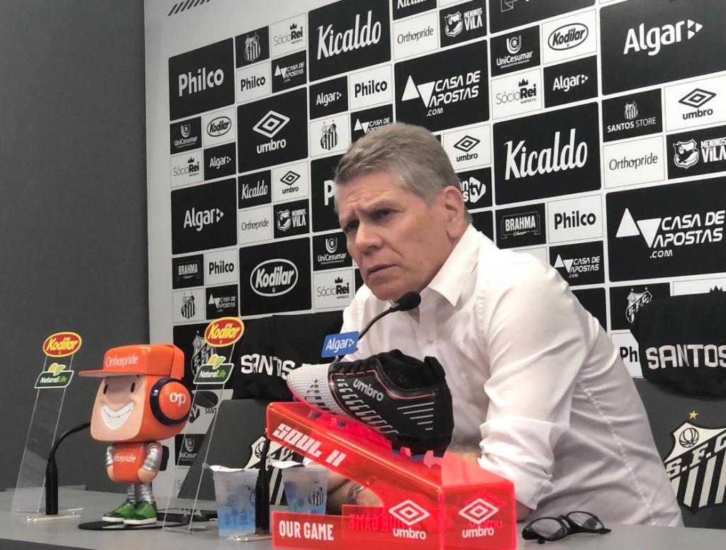 Paulo Autuori diz que não fica no Santos em 2020: 'Não quero mais'