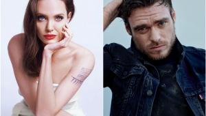 Angelina Jolie e Richard Madden são retirados do set após bomba