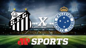 Santos x Cruzeiro: acompanhe o jogo ao vivo na Jovem Pan