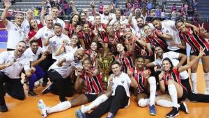 São Paulo/Barueri vence Osasco-Audax e é campeão paulista feminino de vôlei