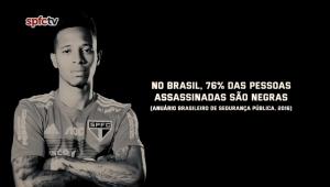 São Paulo se posiciona contra o racismo e lembra de casos no futebol; assista