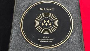 The Who inaugura Calçada da Fama da Música em Londres