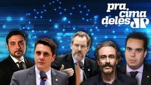 Pra Cima Deles - 22/11/2019 - Alex Manente, Alexis Fonteyne, Guilherme Fiuza e Paulo Eduardo Martins