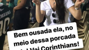 Torcedora do Corinthians é agredida por palmeirenses no Pacaembu