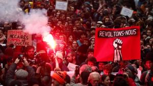 França tem segundo dia de greve geral contra reforma da Previdência