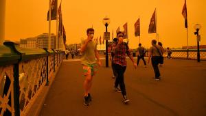 Incêndios florestais na Austrália deixam Sydney coberta por camada de fumaça