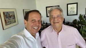 Doria visita FHC para discutir 'papel do novo PSDB'