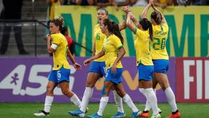 Seleção feminina massacra o México em amistoso na Arena Corinthians