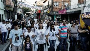 Paraisópolis tem fim de semana de homenagens, baile funk 'vazio' e ato ecumênico