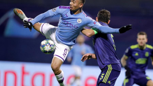 Gabriel Jesus marca hat-trick na Champions e passa os 100 gols na carreira