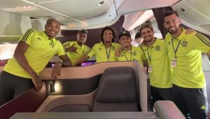 Flamengo embarca para o Catar em busca do Bi Mundial