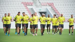 Mundial: Flamengo faz primeiro treino no Catar e conhece bola do torneio