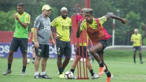 Fla faz último treino do Rio antes do Mundial; Torcida aparece em menor número