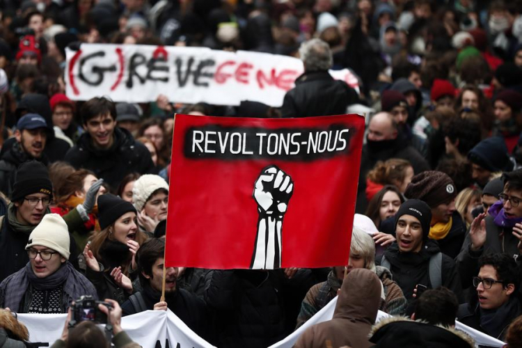 Protesto França