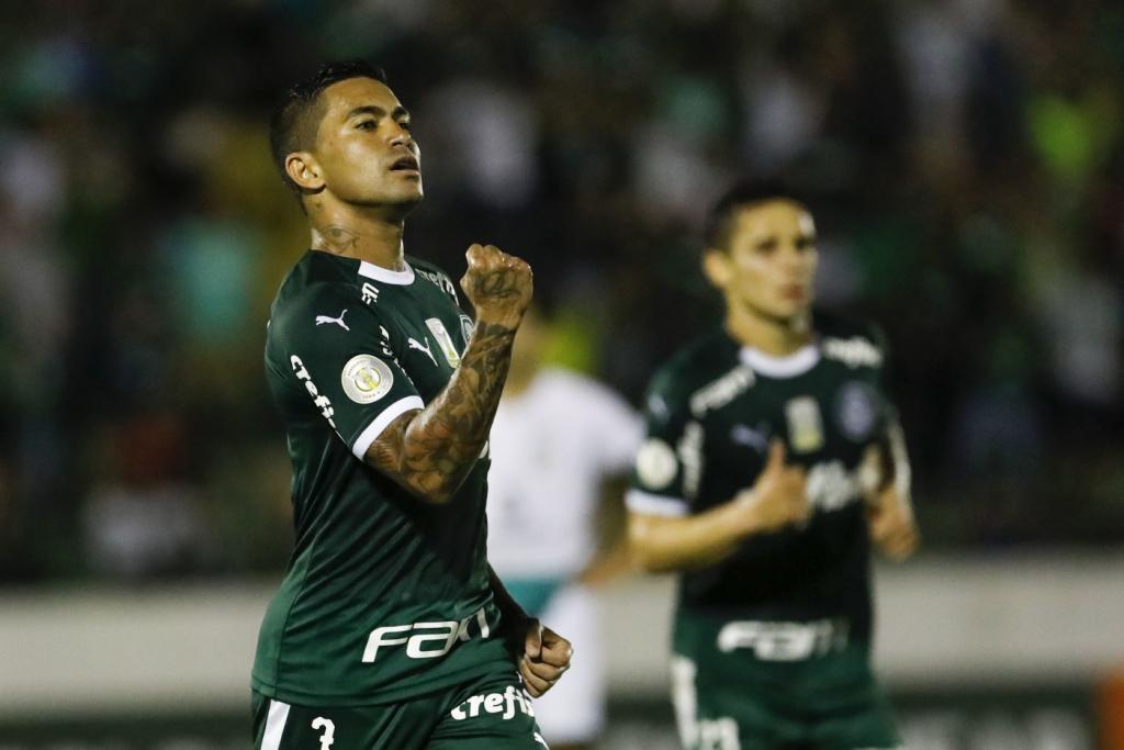 Palmeiras goleia o Goiás com shows de Dudu e Gabriel Veron