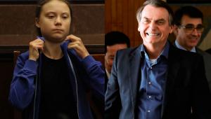 Bolsonaro chama Greta de